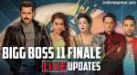 Bigg Boss 11 finale LIVE UPDATES: Shilpa Shinde or Hina Khan, who will be the winner?