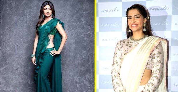 Take Style Inspiration For Sarees From Bollywood Beauties