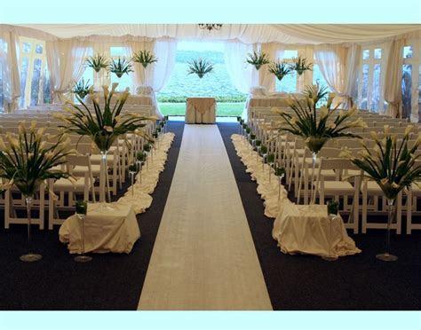 outdoor wedding ceremony decoration idea   Marriage