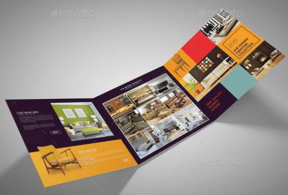 10 Beautiful Furniture Brochure Templates-Free PDF ...