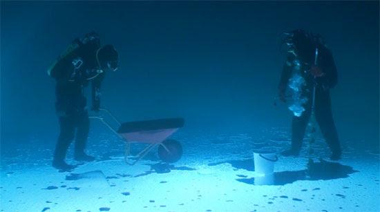 Ψάρεμα κάτω από τον πάγο