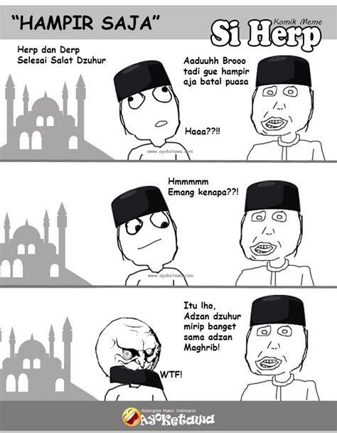meme lucu ramadhan batal puasa bikin ngakak ayo ketawa