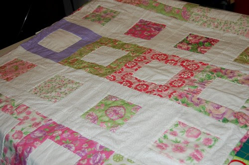Baby Pink Quilt