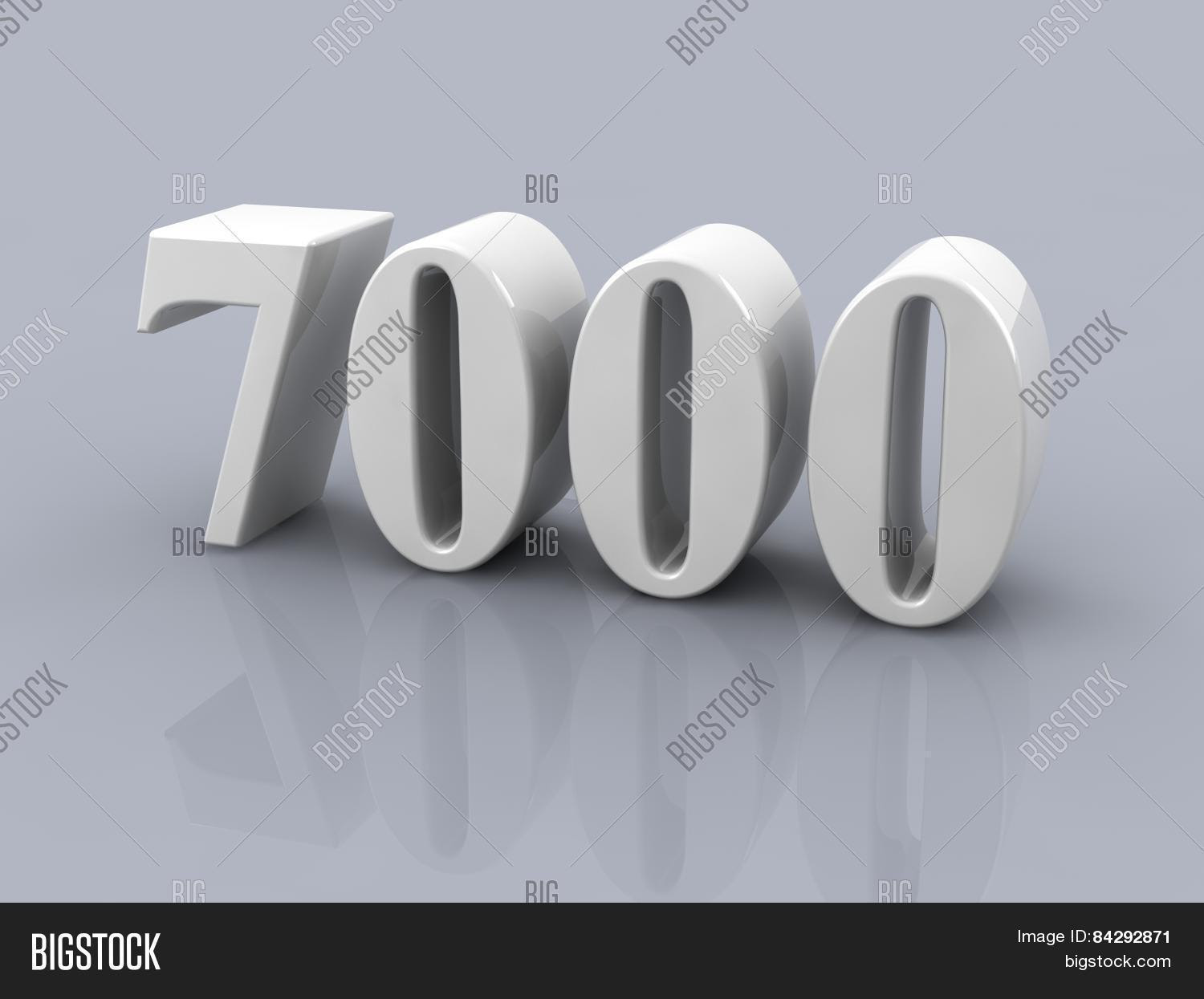 Number 7000 Gallery