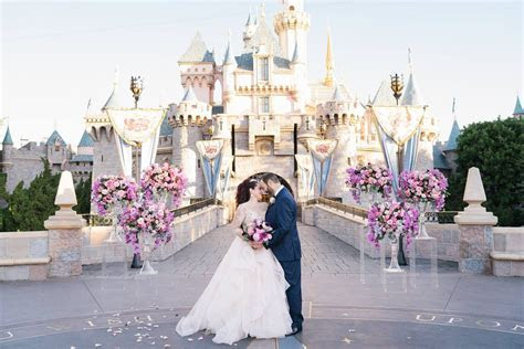 """Disney Weddings on Twitter: """"This castle wedding was an"""