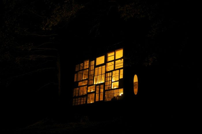 glass cabin west virginia, A House Made of Windows, house mad of galss west virginia