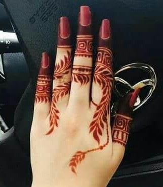 Mehndi Design 2019 Simple And Easy Finger