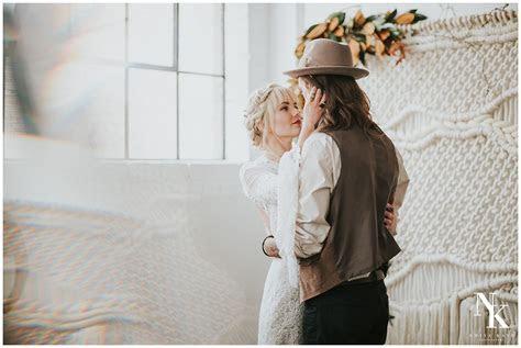 Bohemian Macrame Wedding Arizona Elopement Photographer