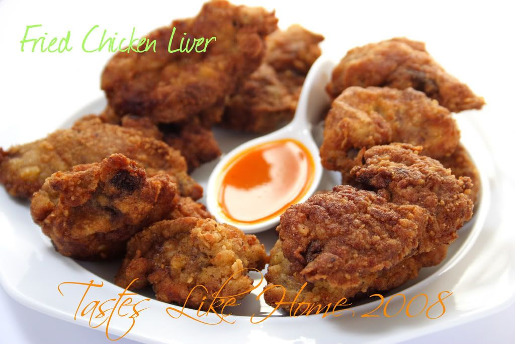 Fried Chicken Liver