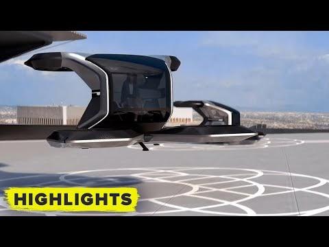 General Motors presentó su Cadillac autónomo que puede volar