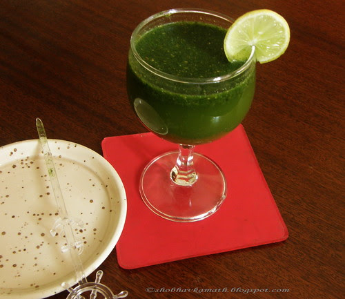 Mint and Ginger Drink