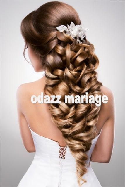 Coiffure Mariage Cheveux Détachés Mi Longs La Frange De