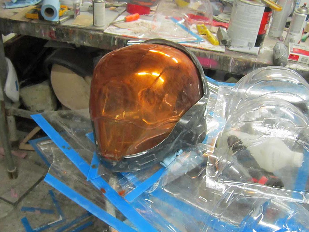 EVA Visor Test Fit