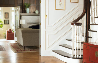 Decorating Hall Stairs And Landing Cheaply - Decorating and