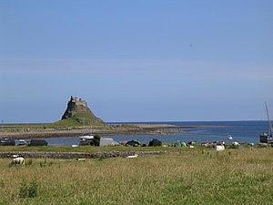 English: Lindisfarne. Lindisfarne is also know...