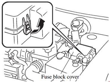 97 02 Mazda 626 Fuse Box Diagram
