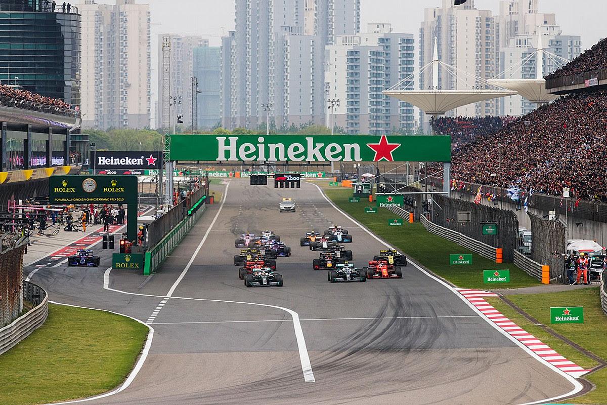 Chinese Grand Prix ontbreekt voor derde jaar op F1-kalender