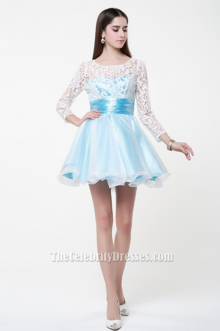 cute_short_long_sleeve_a line_party_homecoming_dresses_3_