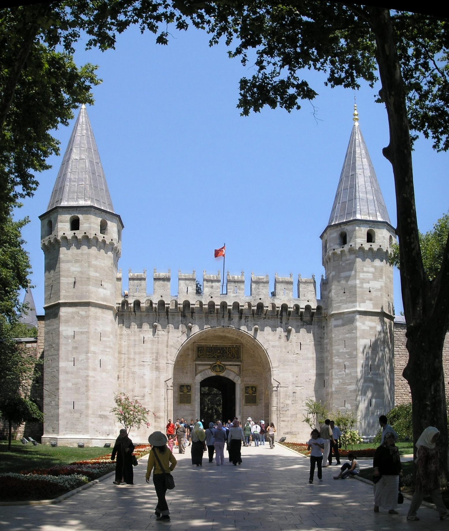 The Gate of Salutation, Topkapi Palace, Constantinople
