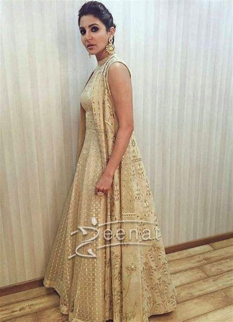 Anushka Sharma In Anita Dongre   Go desi ;)   Indian