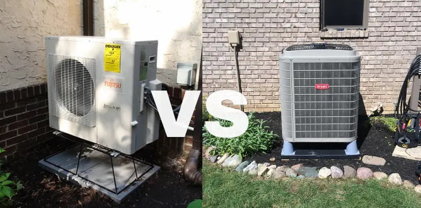 ductless vs heat pump1