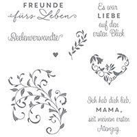 Auf den ersten Blick Clear-Mount Stamp Set (German) by Stampin' Up!