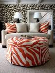 Three Fun Rooms With Orange as Accent Color | theLENNOXX