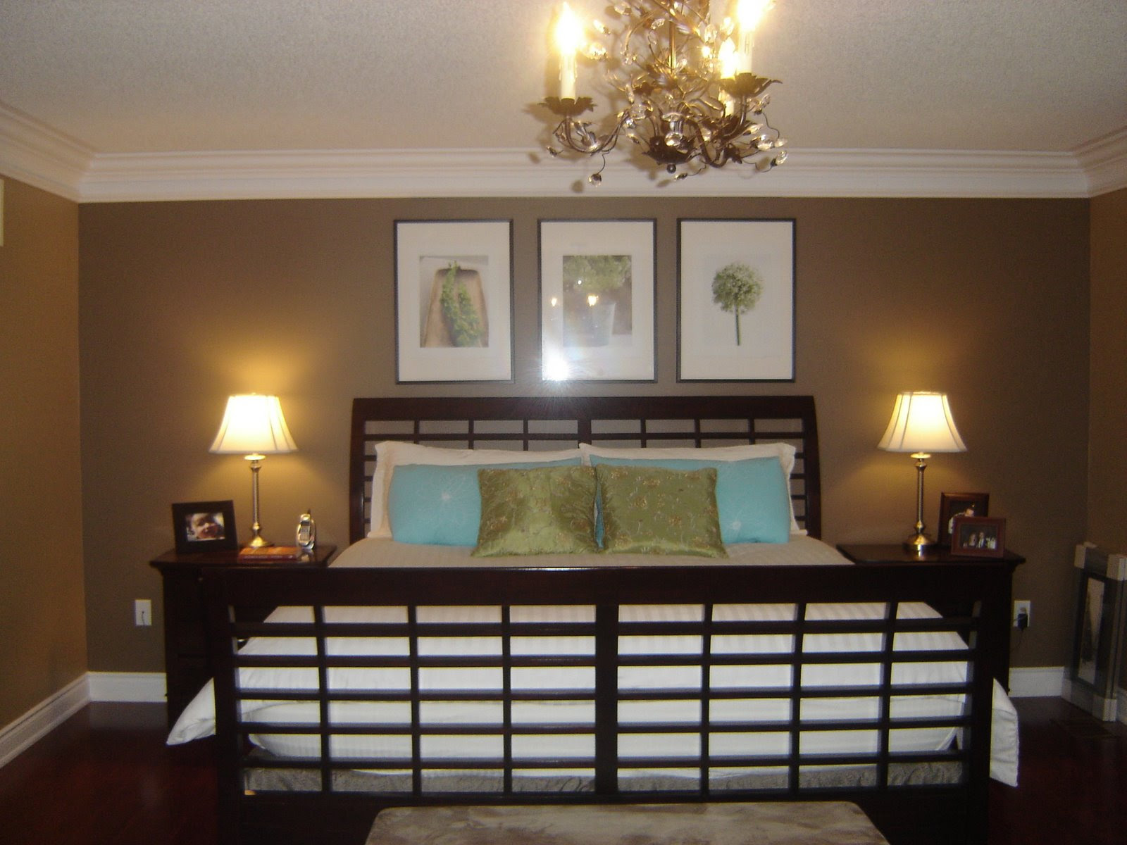 Master Bedroom (with new wall color) | Notes from Home
