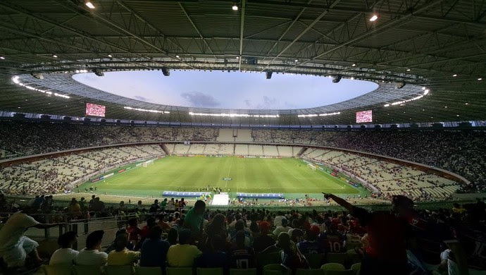 Arena Castelão, Clássico, tempo real (Foto: Juscelino Filho)