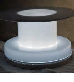 Table Riser White