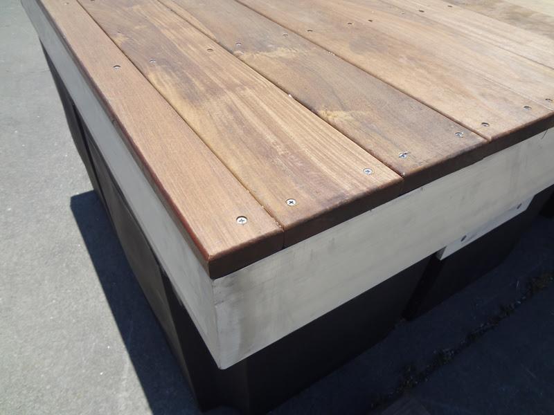 Aluminum Boat Dock Material   row boat bookshelf plans