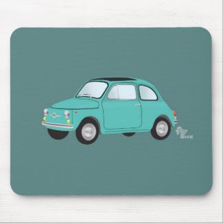 Fiat 500 Mousepad