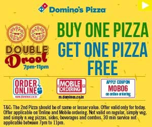 dominos-double-drool-BOGO-offer
