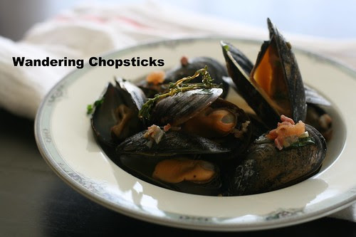 Moules Frites (Belgian Mussels with Fries) 12