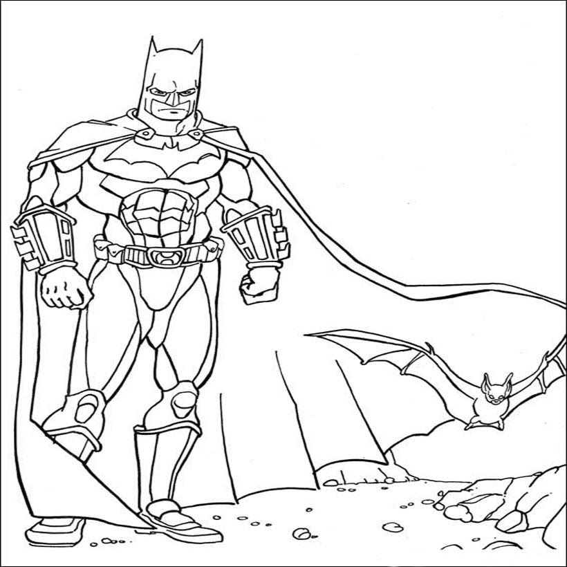 Catwoman Coloring Page - Coloring Home