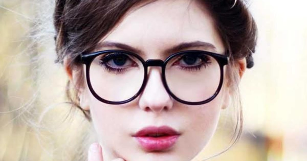 JUAL PROMO Indi Retro Round Clear Lens Fashion Glasses 14977 L - Kacamata Wanita ~ Toko