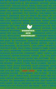 Woodstock 40th Anniversary Poster