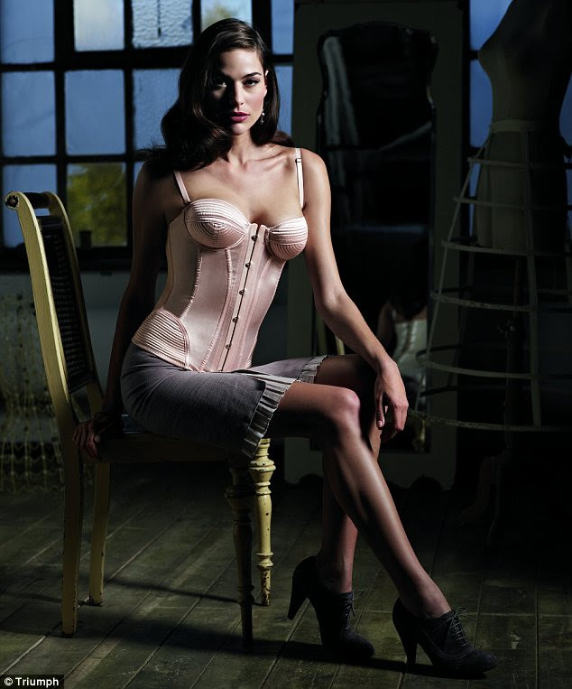 Triumph - the firm behind the first bra commercially available to women - has launched the Vintage Collection to bring revamped Triumph designs into the present day