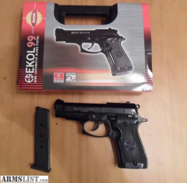 ARMSLIST - For Sale: 9mm pak blank firing gun