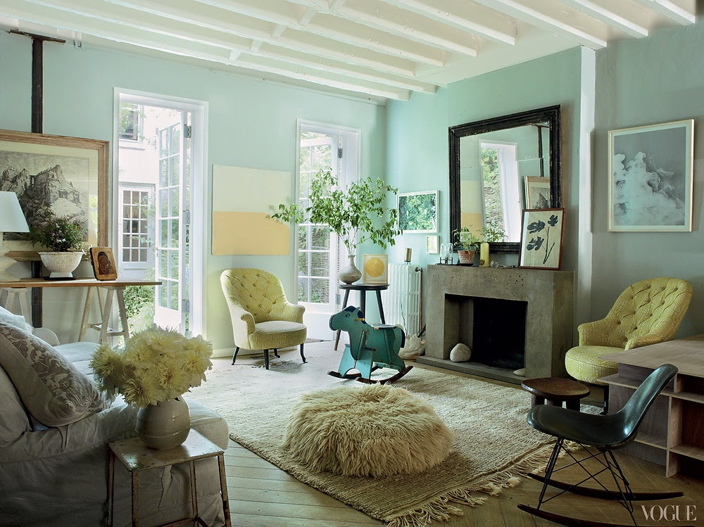 Vogue American Pastoral Miranda Brooks and Bastien Halard's Brooklyn Home 1