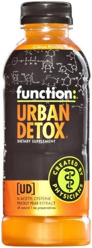 Λειτουργία: Urban Detox Citrus φραγκοσυκιά ποτό, 16.9 ουγγιά μπουκάλι (πακέτο των 12)