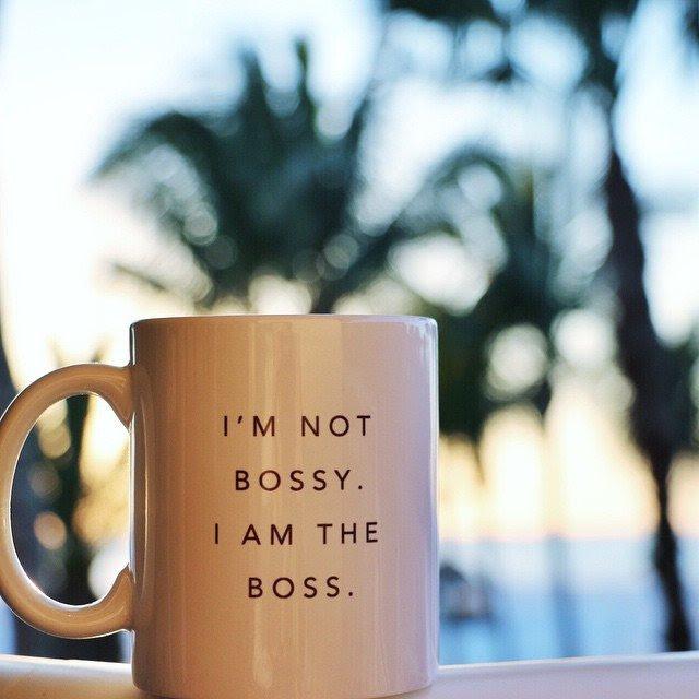 I'm The Boss Mug   Gifts For Men