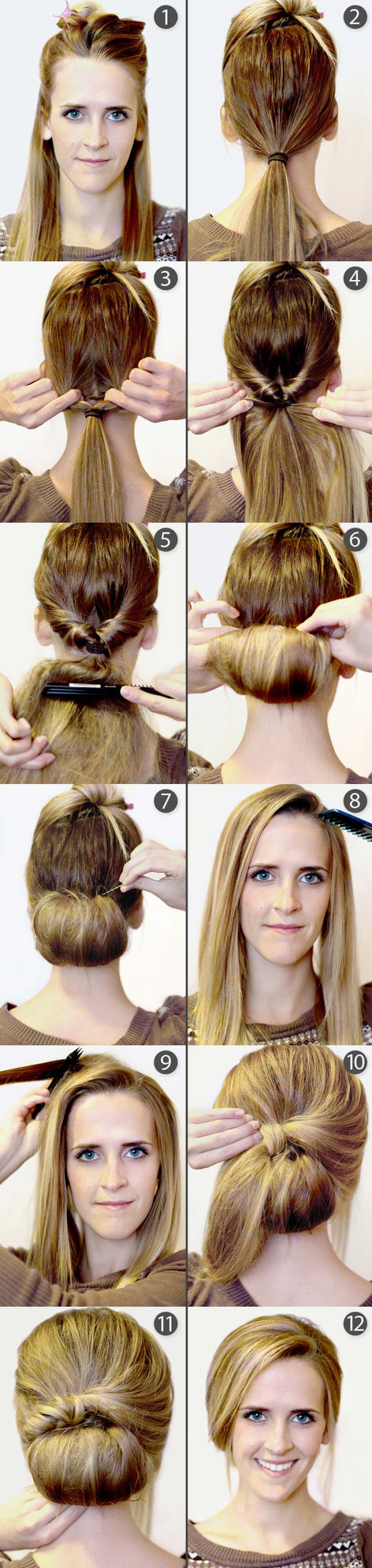 9 Pretty DIY Hairstyles  With Step  by Step  Tutorials
