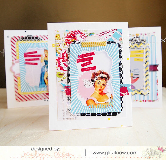Glitz Note Card Set