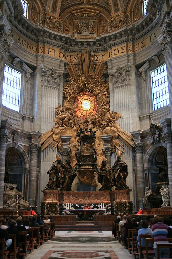 File:Chair of Saint Peter.jpg