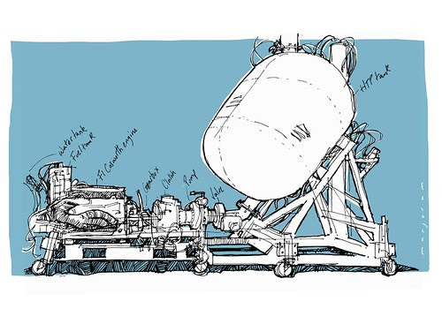 Rocket Test Rig by Stefan Marjoram