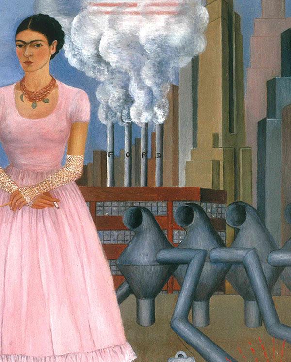 De La Foto A La Pintura Frida Kahlo