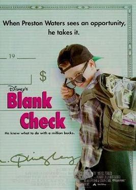 Blank Check Movie