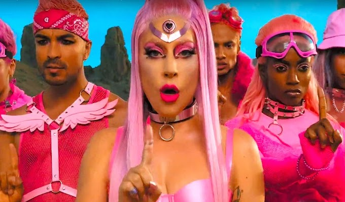 "Lady Gaga lança clipe de nova Música ""Stupid Love"""
