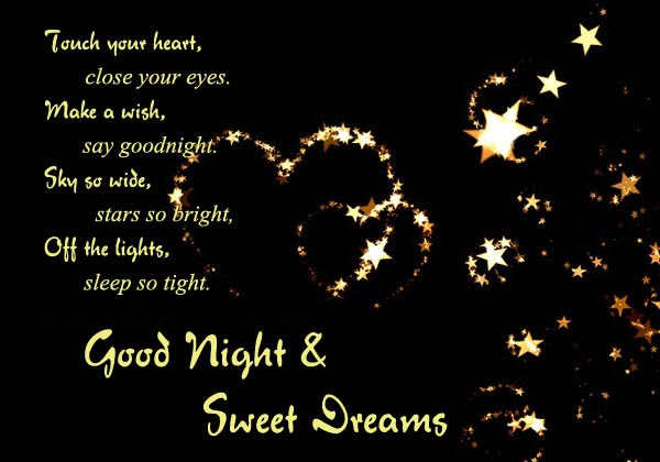 Goodnight Messages For Lover With Images And Pictures